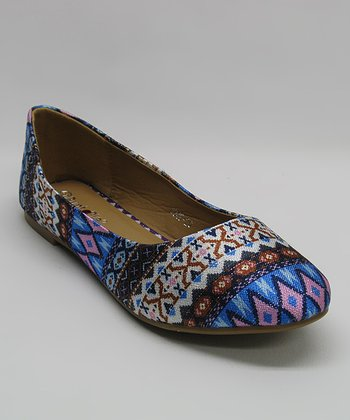 Blue Tribal Flat