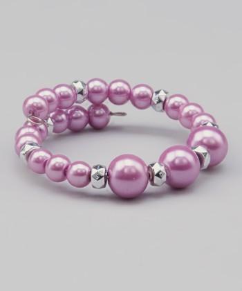Purple Elainia Bracelet
