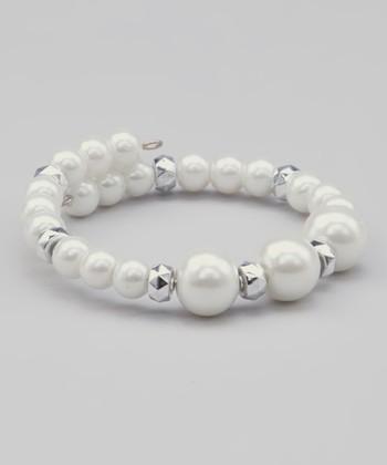White Alainia Bracelet