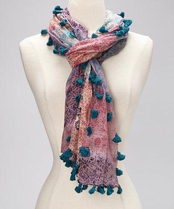 Pink & Blue Scarf