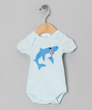 Aqua Shark Bodysuit - Infant
