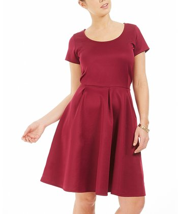 Framboise Brook A-Line Dress - Plus