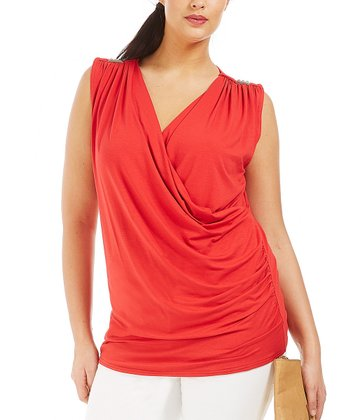 Rouge Carrey Sleeveless Top - Plus