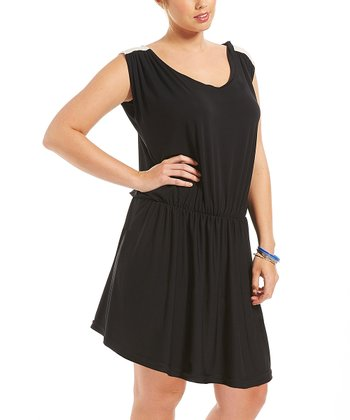 Noir Chrystie Dress - Plus