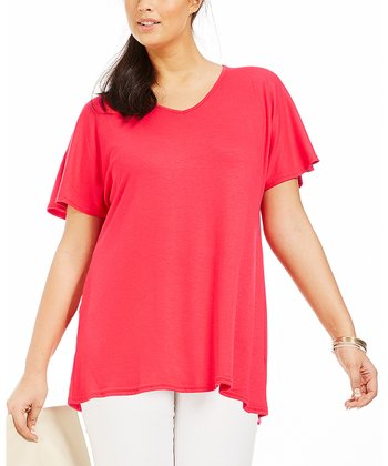 Rouge Ilonia Drape Tee - Plus