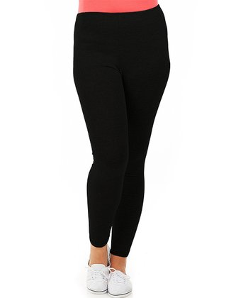 Noir Long Leggings - Plus
