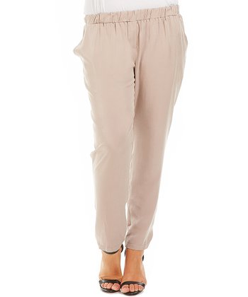 Beige Pants - Plus