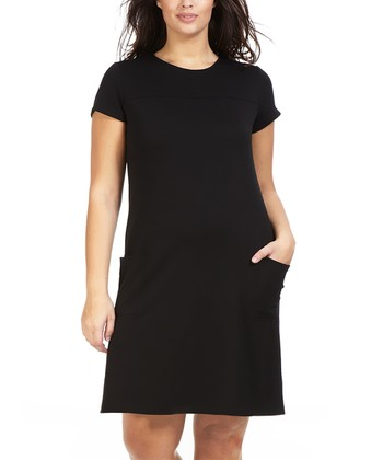Noir Reve Shift Dress - Plus