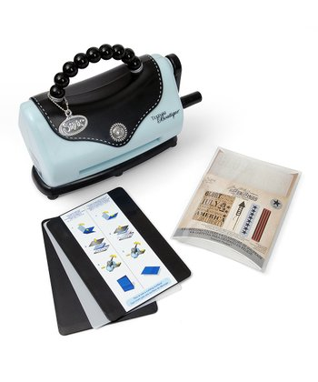 Texture Boutique Machine & Americana Embossing Folder Set