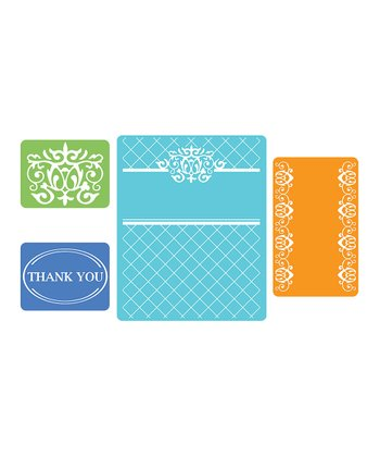 Thank You Textured Impressions Embossing Folder Set