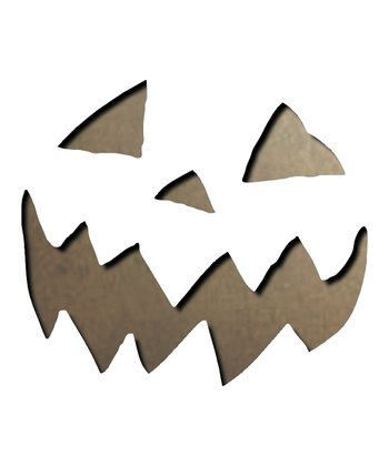 Scary Jack-o-Lantern Movers & Shapers Magnetic Die Set
