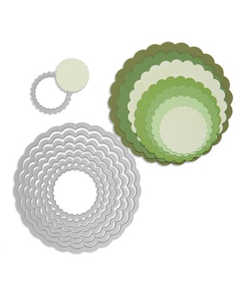 Scallop Circles Framelits Die Set