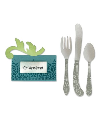 Place Card & Silverware Bigz Die