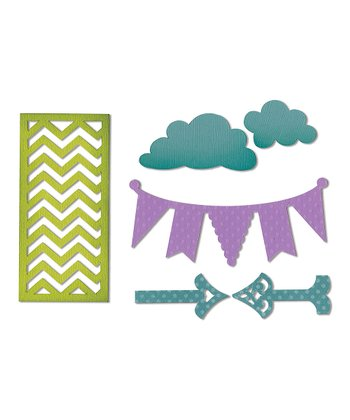 Arrows, Chevrons & Clouds Thinlits Die Set