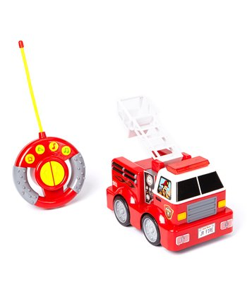 My First Remote Control Fire Truck