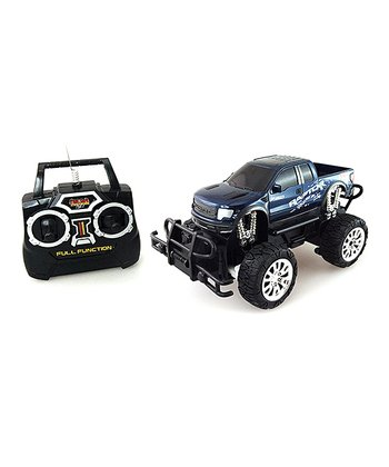 Blue Mean Machine Remote Control F-150 Raptor