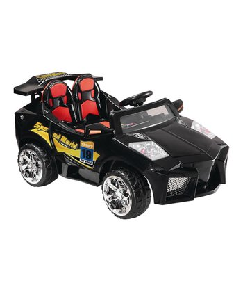 Black Mini Motos Super Car Ride-On