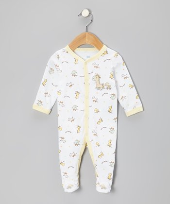 White Little Wonder Footie - Infant
