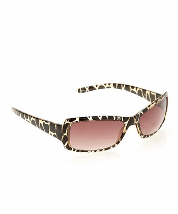 Crystal Animal Square Frame Sun Readers