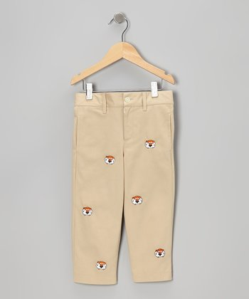 Khaki Auburn University Aubie Pants - Toddler & Boys