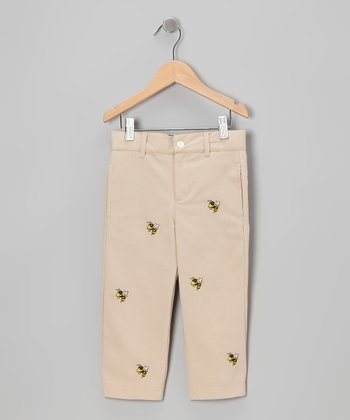 Khaki Georgia Tech Pants - Toddler & Boys