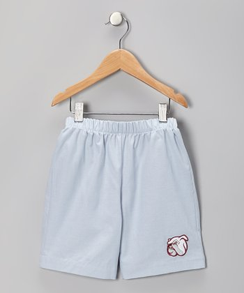 Blue Mississippi State Bulldog Shorts - Infant, Toddler & Boys