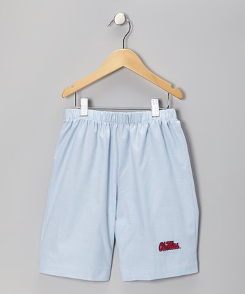 Blue UM 'Ole Miss' Shorts - Boys