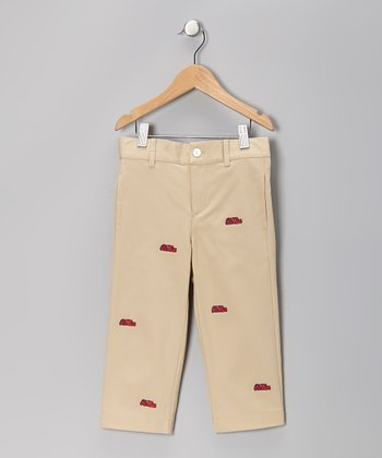 Khaki Ole Miss Pants - Toddler & Boys