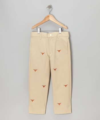 Khaki UT Longhorns Pants - Toddler & Boys