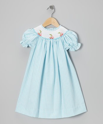 Blue Sail Away Bishop Dress - Infant, Toddler & Girls