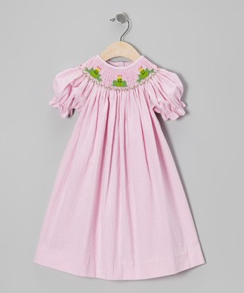 Pink Prince Frog Bishop Dress - Infant, Toddler & Girls