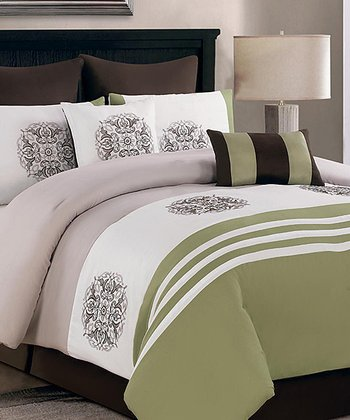 Sage Ashley Queen Comforter Set