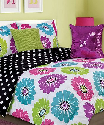 Carnival Brandy Twin Comforter Set