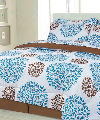 Teal Montana Bed in a Bag Set