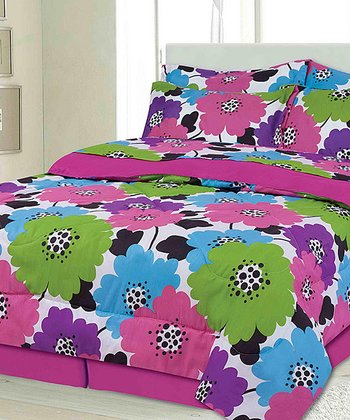 Carnival Brandy Twin Bed-in-a-Bag Set
