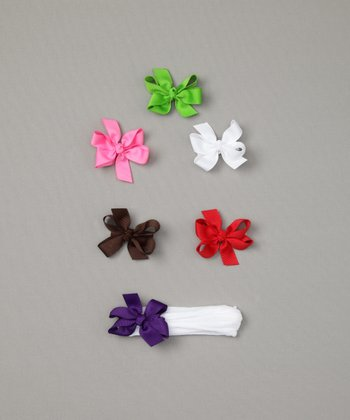 Set of Seven Baby Hair Accessories