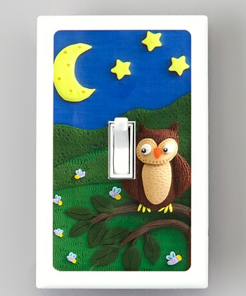 Night Owl Naturally Bacteria-Resistant Light Switch Cover