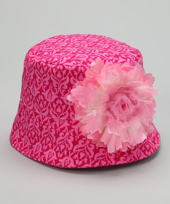 Pink & Raspberry Emily Bucket Hat