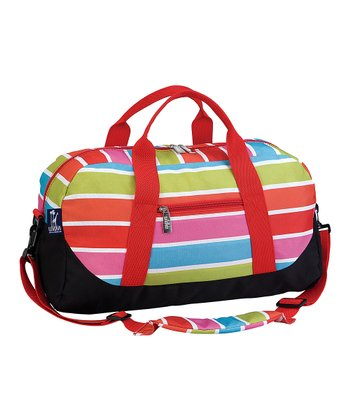 Bright Stripe Sleepover Duffel Bag