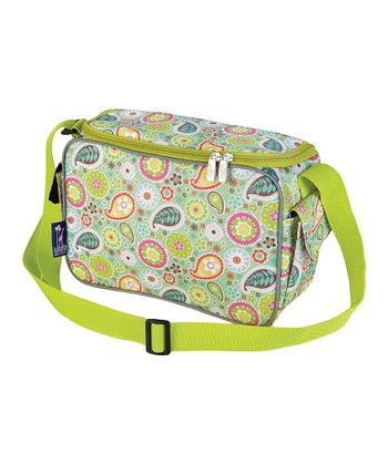 Green Spring Bloom Lunch Cooler