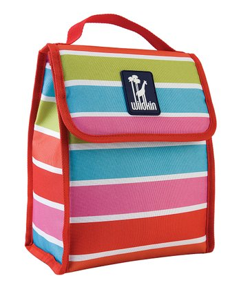 Bright Stripe Munch 'N' Lunch Bag