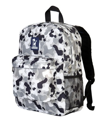 Gray Camo Crackerjack Backpack