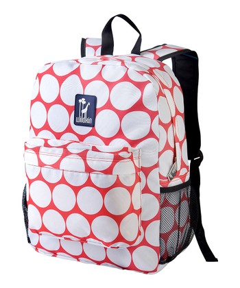 Red & White Big Dot Crackerjack Backpack