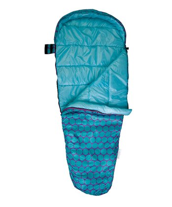 Aqua Big Dot Stay Warm Sleeping Bag
