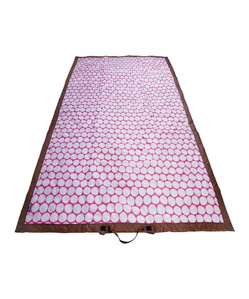 Pink & White Big Dot Picnic Blanket