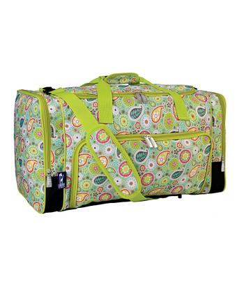 Green Spring Bloom Weekender Duffel Bag