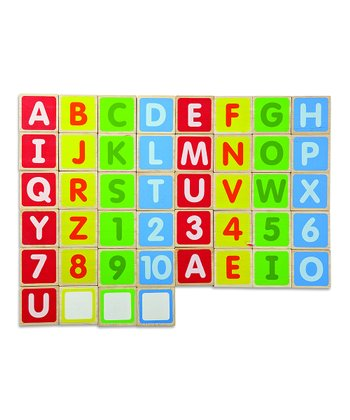 Uppercase Alphabet Magnet Block Set
