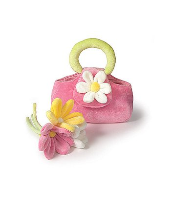 Pink Daisy Purse