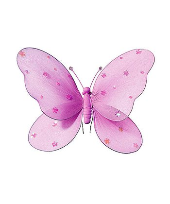 Pink Jewel Butterfly