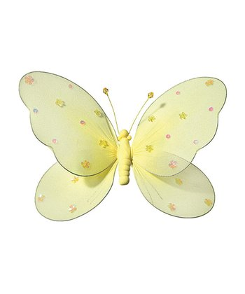 Yellow Jewel Butterfly